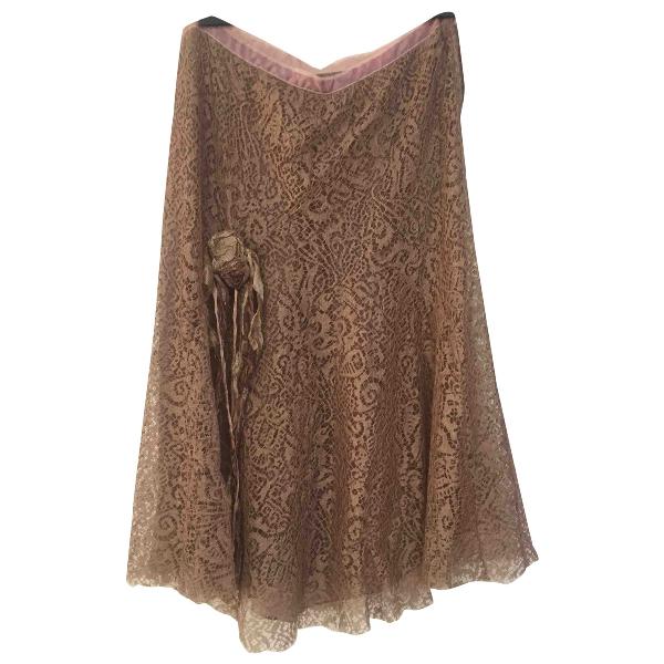 Blumarine Brown Skirt