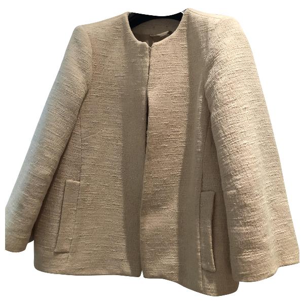 Patrizia Pepe Beige Cotton Jacket