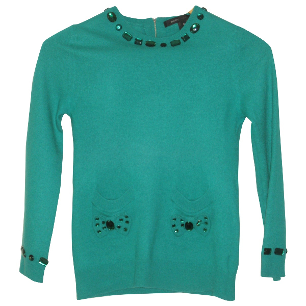 Marc Jacobs Green Wool Knitwear