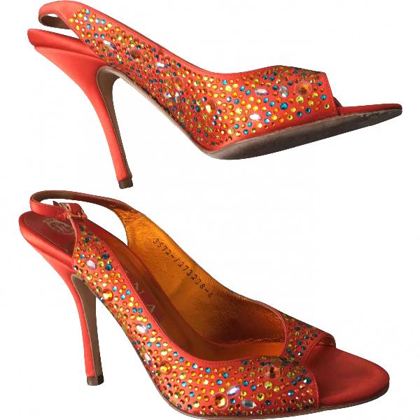 Gina Orange Heels