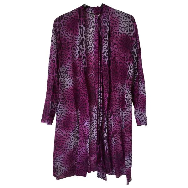 Dior Purple Silk Dress