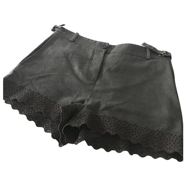 Vanessa Bruno Brown Wool Shorts