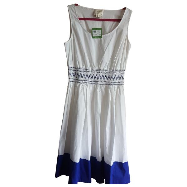 Kate Spade White Cotton Dress