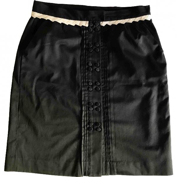 Viktor & Rolf Black Cotton Skirt