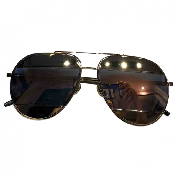 Dior Gold Metal Sunglasses