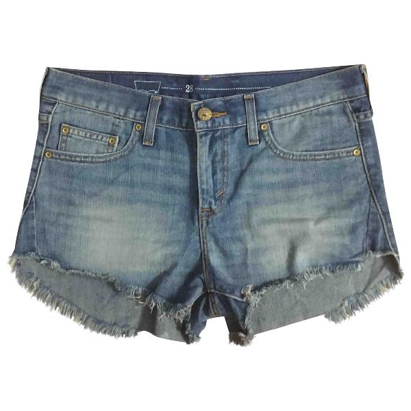 Levi's Grey Cotton Shorts