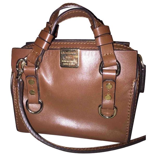 Dsquared2 Brown Leather Handbag