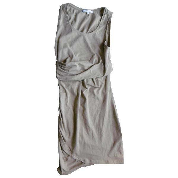 Carven Beige Cotton Dress