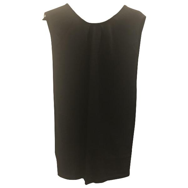 Mauro Grifoni Black Cotton Dress