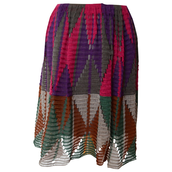 Etro Multicolour Cotton Skirt