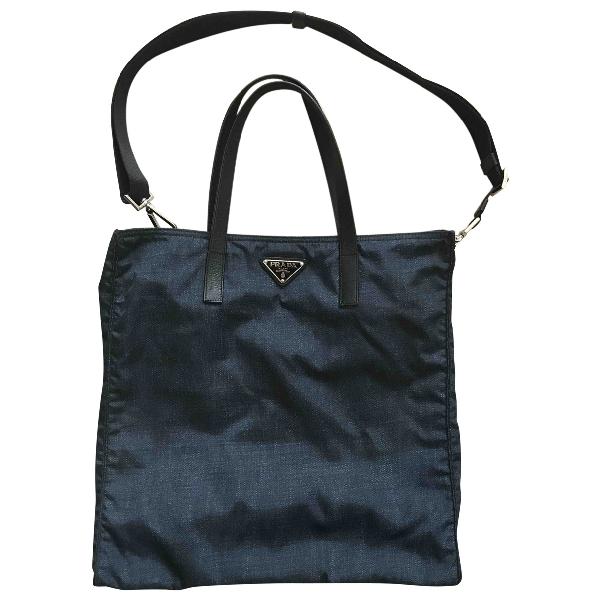 Prada Blue Handbag
