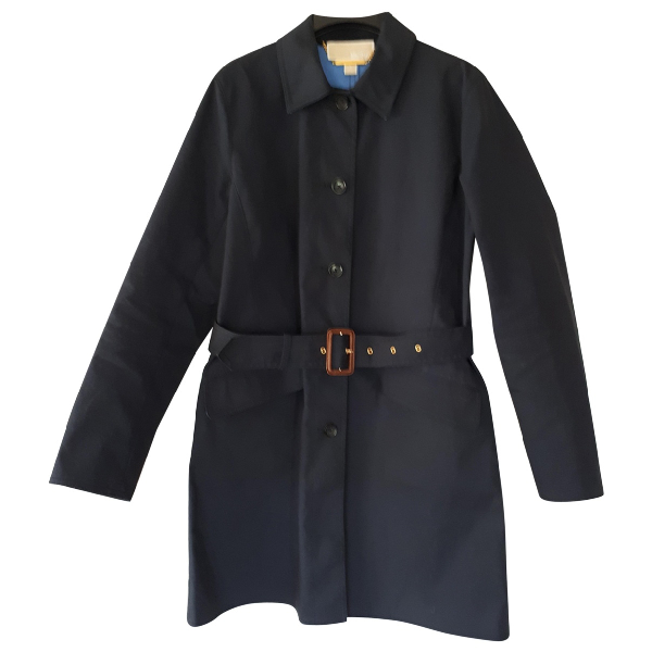 Michael Kors Navy Cotton Jacket
