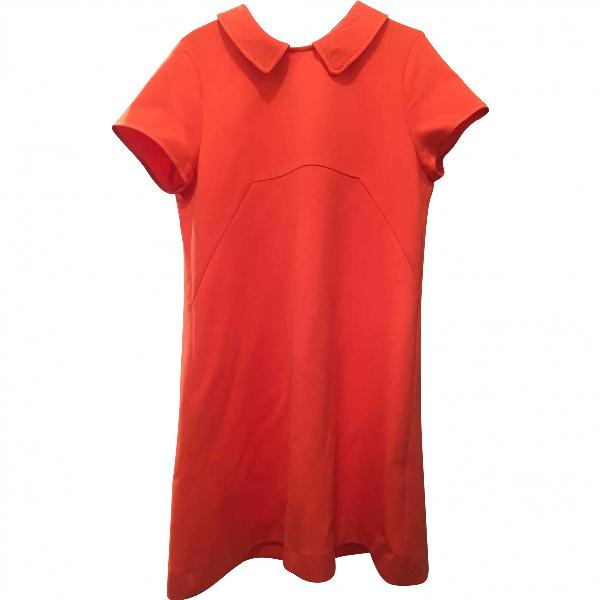 Tara Jarmon Orange Dress
