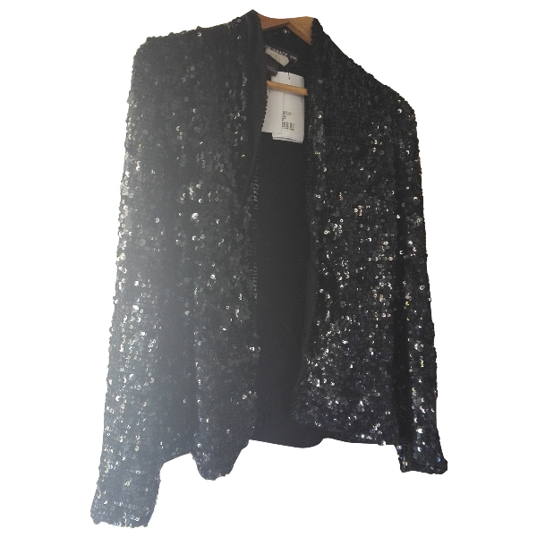 Antik Batik Black Glitter Jacket