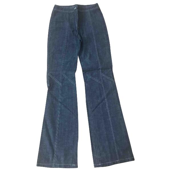 Barbara Bui Blue Cotton Jeans
