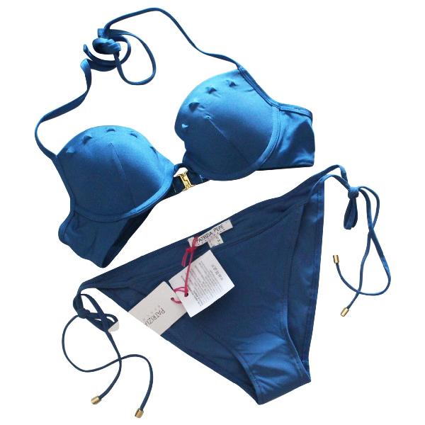 Patrizia Pepe Turquoise Lycra Swimwear