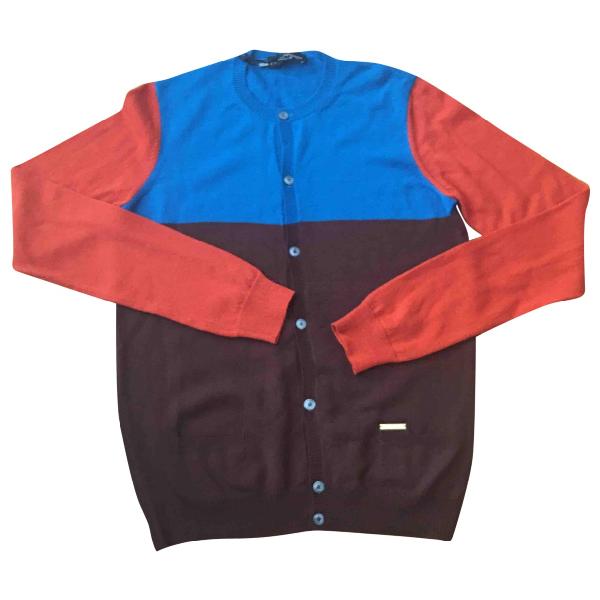 Dsquared2 Multicolour Wool Knitwear