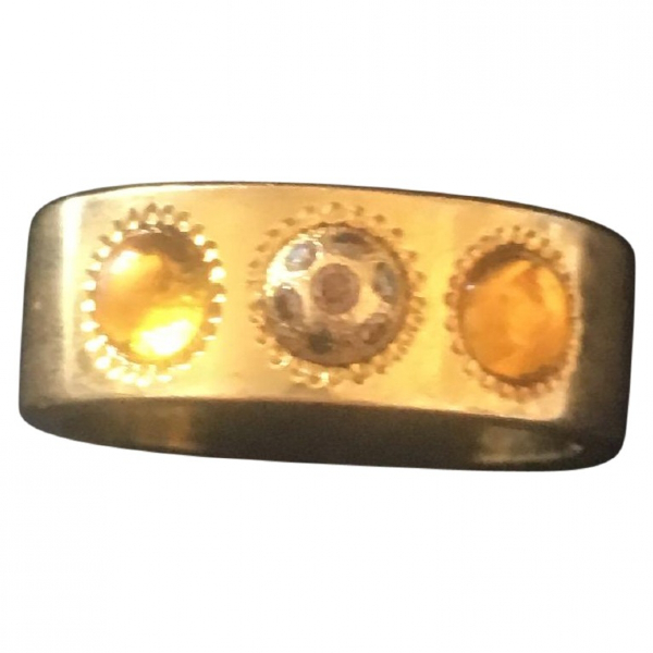 Lalique Yellow Yellow Gold Ring