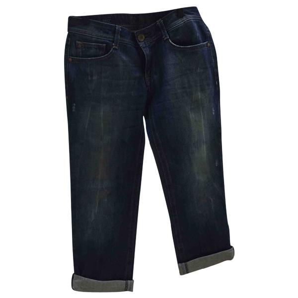 Dl1961 Blue Cotton Trousers