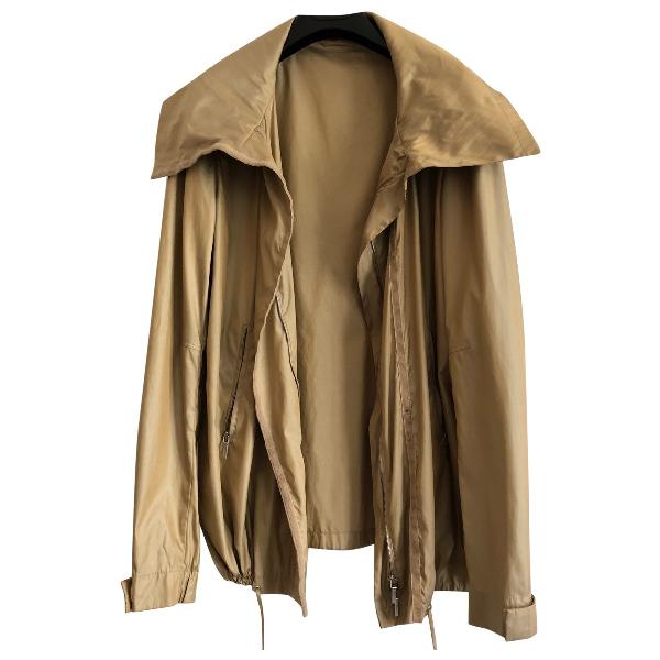 Jil Sander Gold Jacket