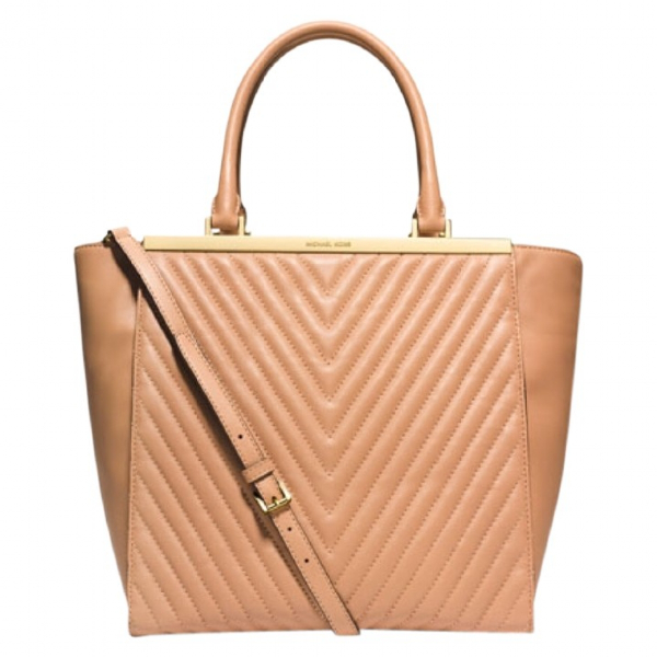 Michael Kors Camel Leather Handbag