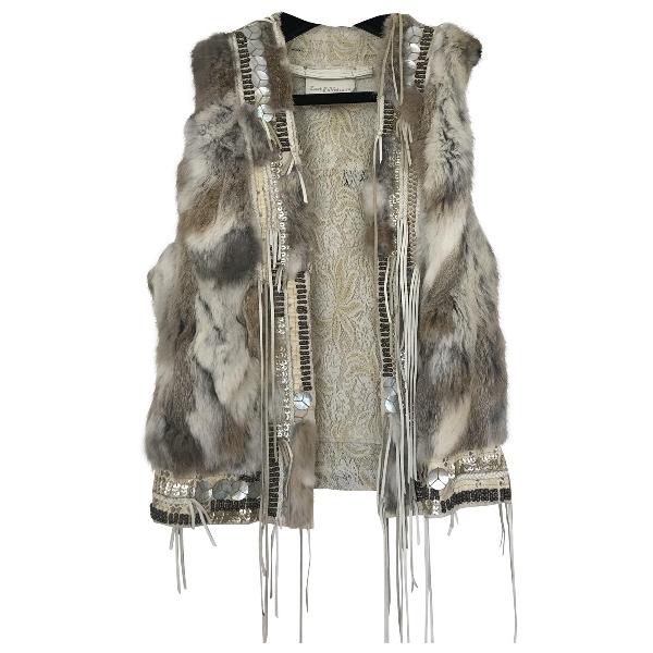 Zadig & Voltaire Beige Leather Jacket