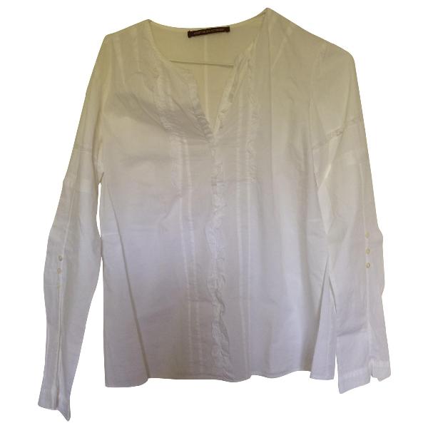 Comptoir Des Cotonniers White Cotton  Top