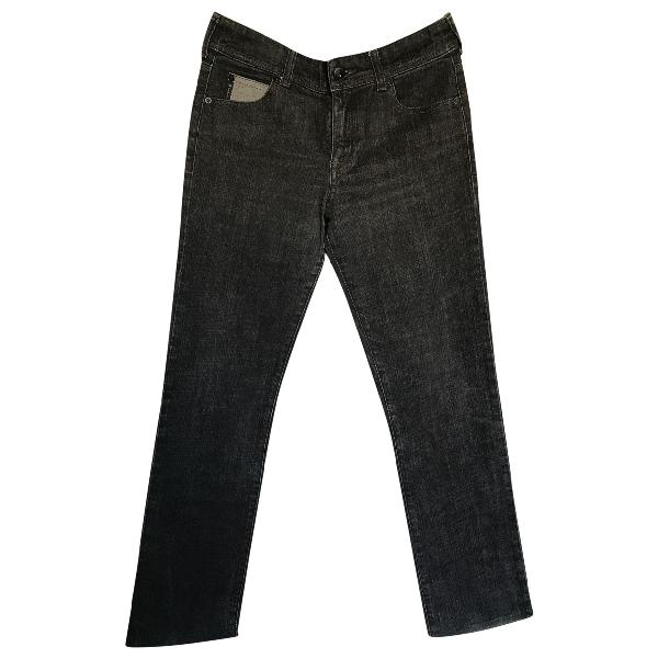 Armani Jeans Grey Cotton Jeans
