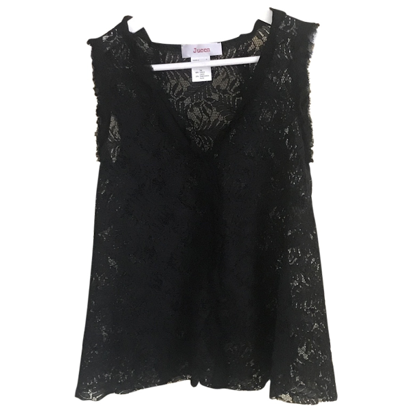 Jucca Black Lace  Top