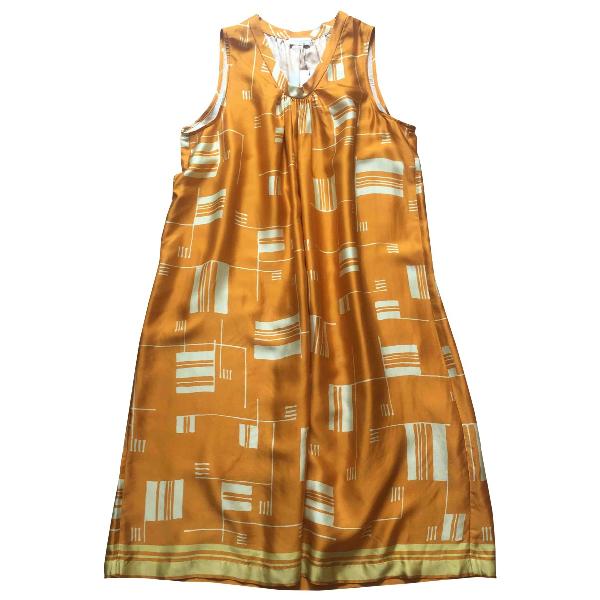 Dries Van Noten Orange Dress
