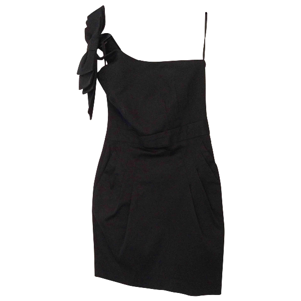 French Connection Black Cotton Dress