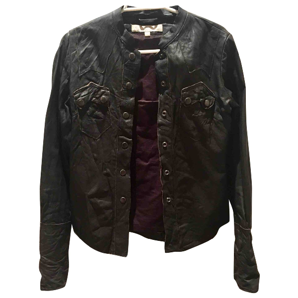 Allsaints Brown Leather Jacket
