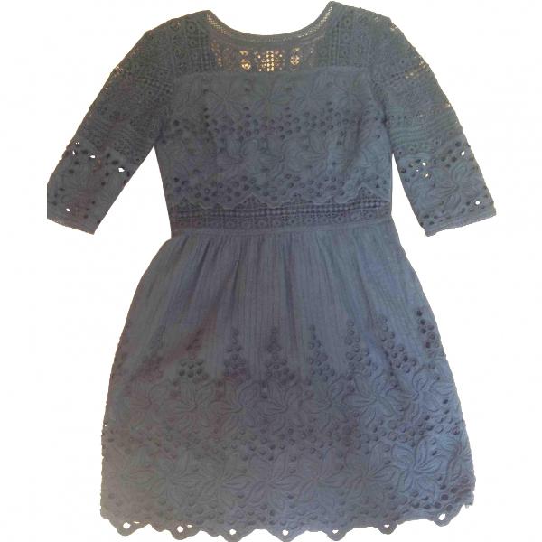 Talitha Black Cotton Dress