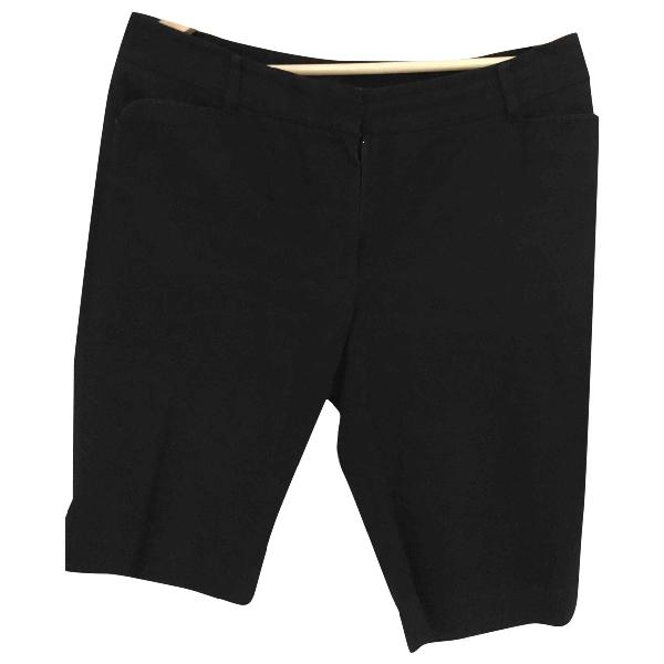 Paul Smith Black Cotton Shorts