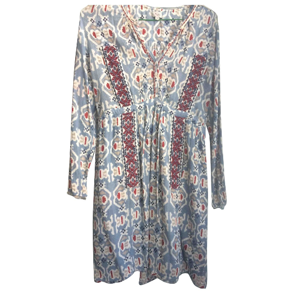 Hoss Intropia Blue Cotton Dress