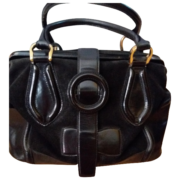 Balenciaga Black Leather Handbag