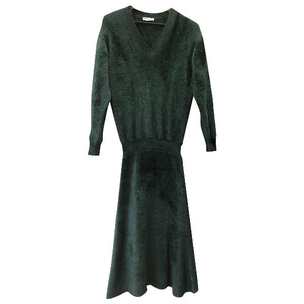 Balenciaga Green Dress
