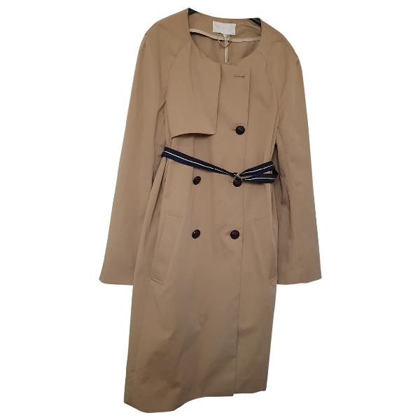 Vanessa Bruno Khaki Cotton Trench Coat