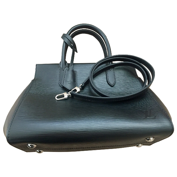 Louis Vuitton Marly Black Leather Handbag