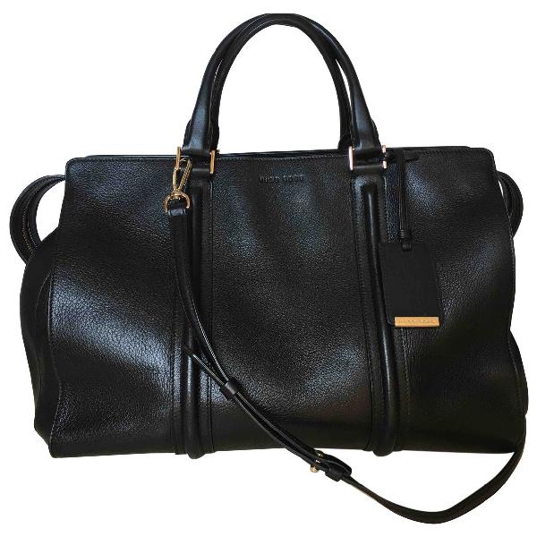 Hugo Boss Black Leather Handbag