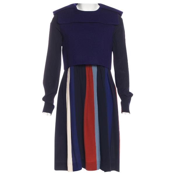 ChloÉ Blue Wool Dress