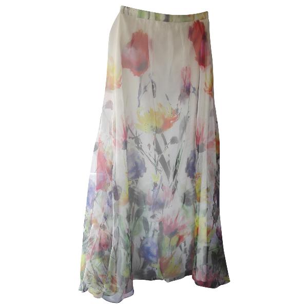 Badgley Mischka Silk Skirt