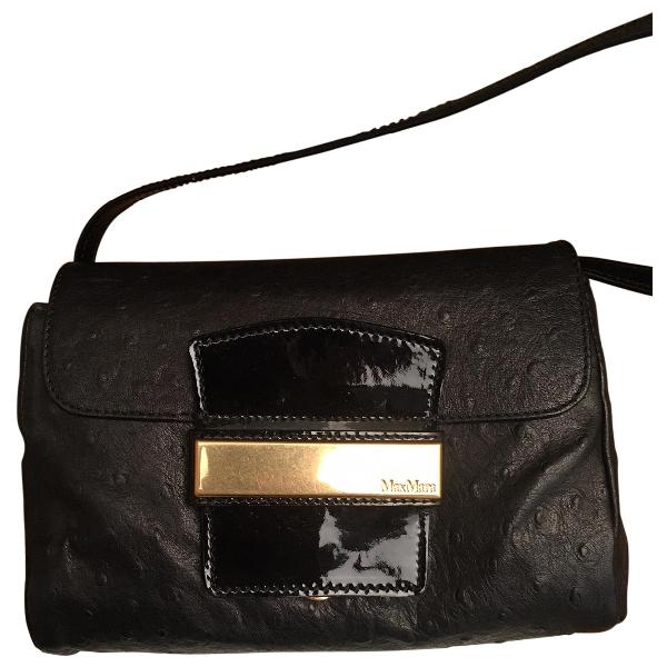 Max Mara Black Leather Handbag