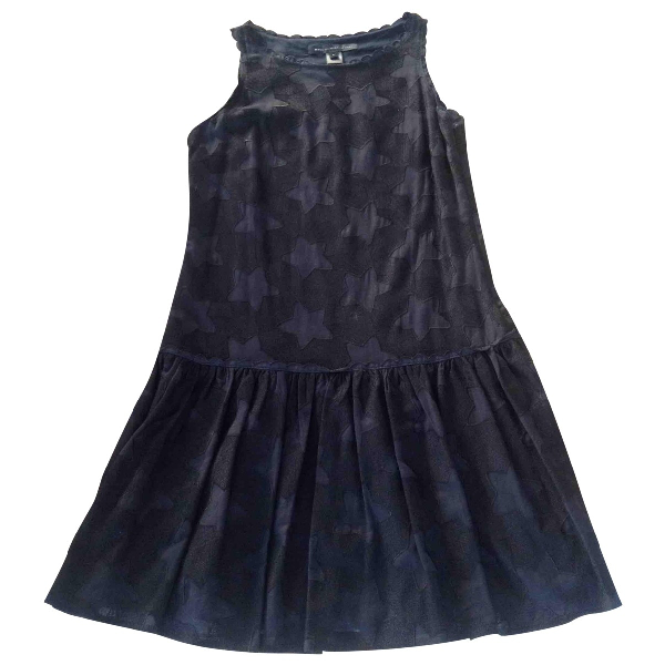 Marc By Marc Jacobs Navy Cotton Dress