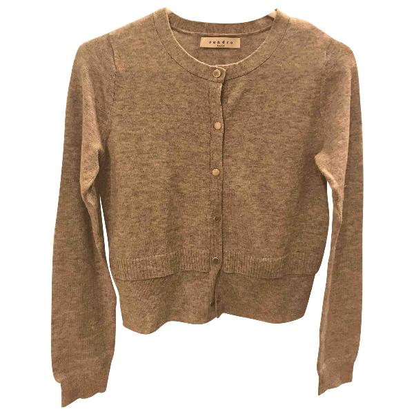 Sandro Grey Wool Knitwear