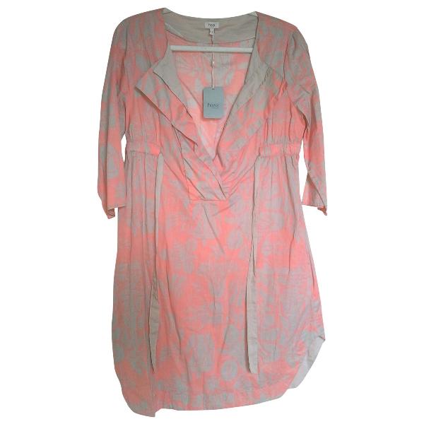 Hoss Intropia Pink Cotton Dress