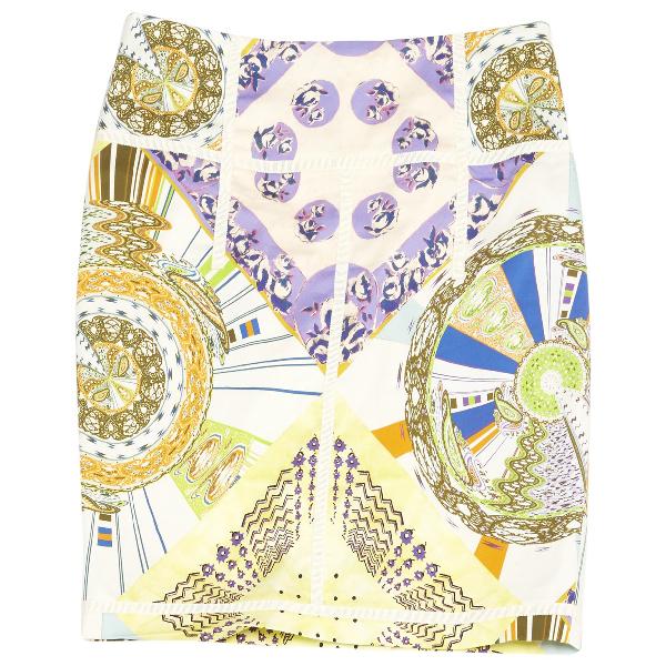 Etro Multicolour Cotton - Elasthane Skirt