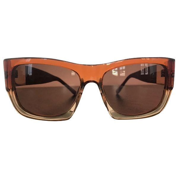 Linda Farrow Red Sunglasses
