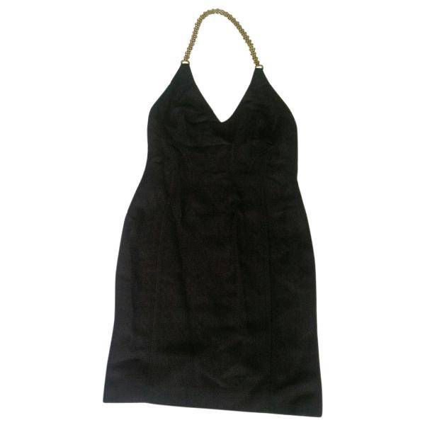 Versace Black Cotton - Elasthane Dress