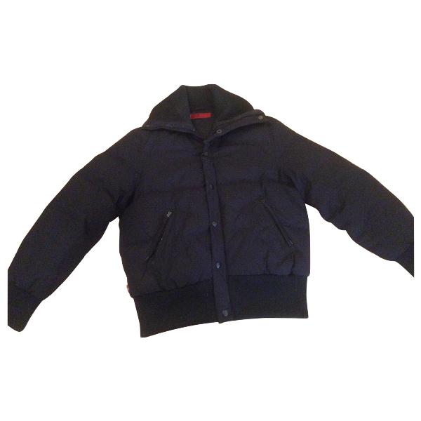 Levi's Black Cotton Coat